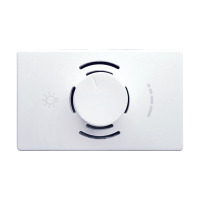 LECCE 200VA LED DIMMER 3MOD WHITE
