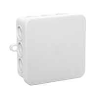 JUNCTION BOX B8 80x80x45 IP54 GREY