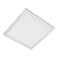 LED PANEL SQUARE  45W COLD WHITE 595MM/595MM,WHITE FRAME