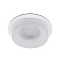 SA-045/1 SINGLE DOWNLIGHT ROUND WHITE/WHITE