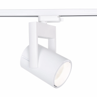 FTL25 COB TRACK LIGHT 25W 3000K  38° WHITE