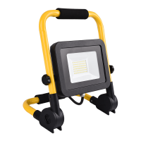 LED FLOODLIGHT WITH STAND AND PLUG 50W 5500K