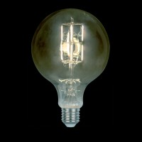 LED VINTAGE LAMP DIMMABLE 8W E27 2800-3200K SMOKED  D:150