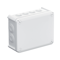 JUNCTION BOX T160 190x150x77 IP66 GREY
