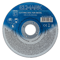 CUTTING DISK FOR METAL 125х3.2х22.2mm