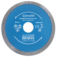 DIAMOND CUTTING DISC WET 115x22.2mm
