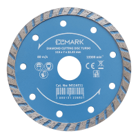 DIAMOND CUTTING DISC TURBO 115x22.2mm