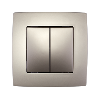CITY CURTAIN SWITCH CHAMPAGNE, METALLIC